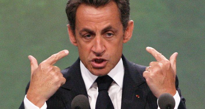 Eski Fransa Cumhurbaşkanı Nicholas Sarkozy