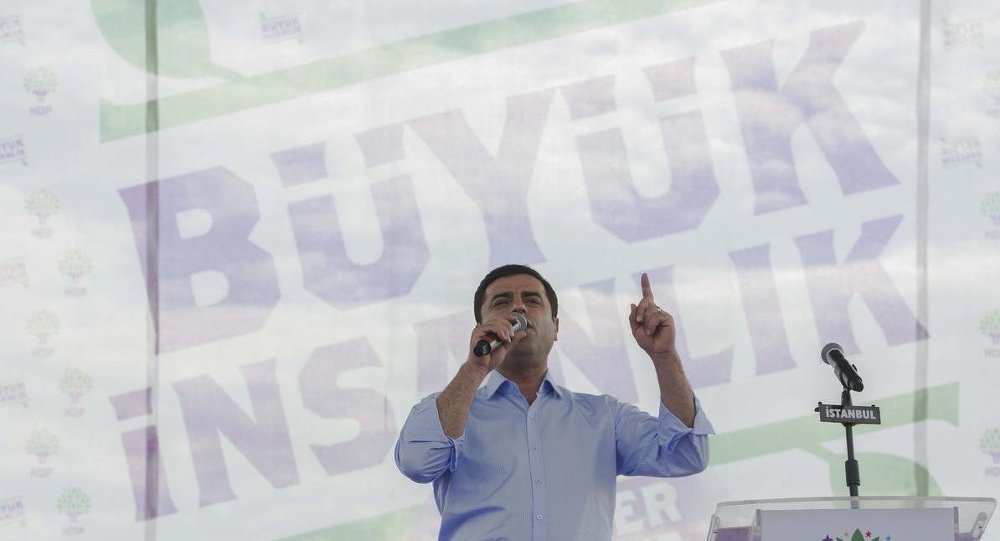 HDP Eş Başkanı Selahattin Demirtaş