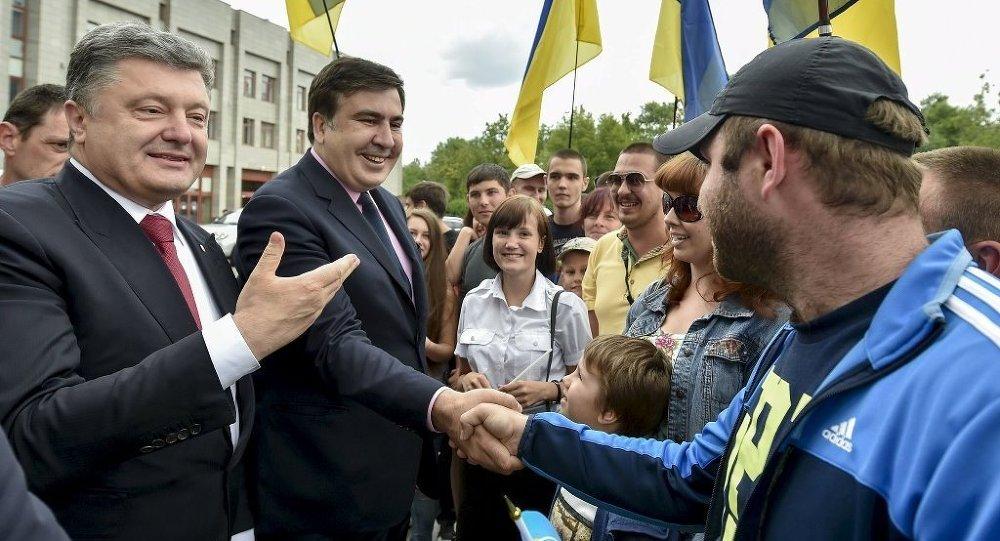 Pyotr Poroşenko - Mihail Saakaşvili