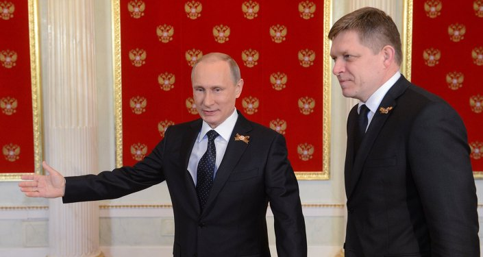 Vladimir Putin ve Robert Fico