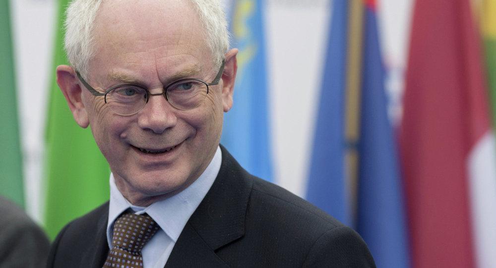 Eski Belçika Başbakanı ve Avrupa Konseyi Başkanı Herman Van Rompuy