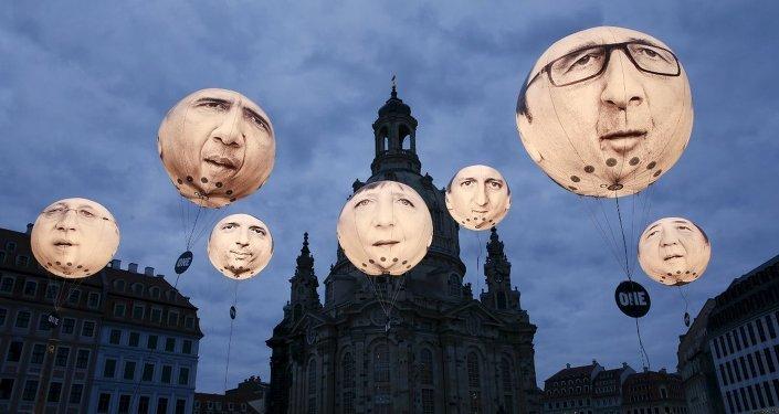 G-7 Liderler Zirvesi'ne yönelik protestolar