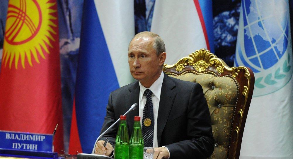 Vladimir Putin, Duşanbe'deki ŞİÖ zirvesinde