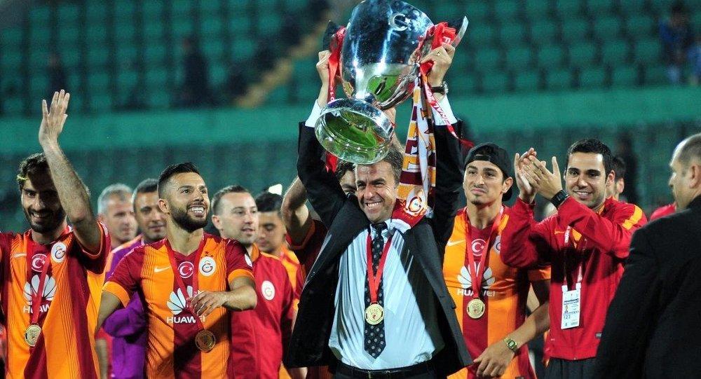 Ziraat Türkiye Kupasını kazanan Galatasaray