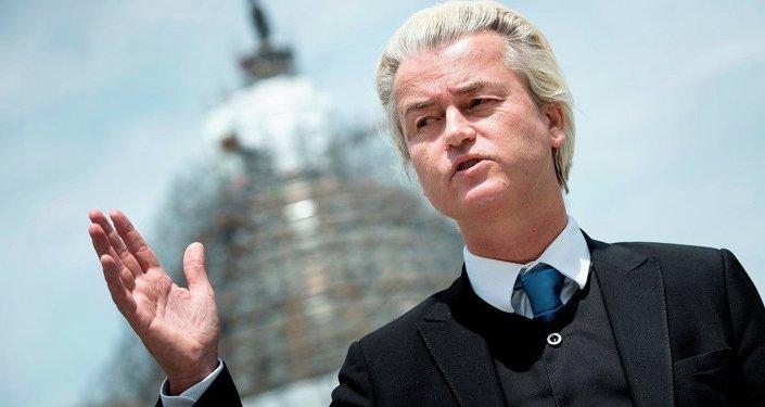 Hollanda'da aşırı sağcı Özgürlük Partisi (PVV) lideri Geert Wilders