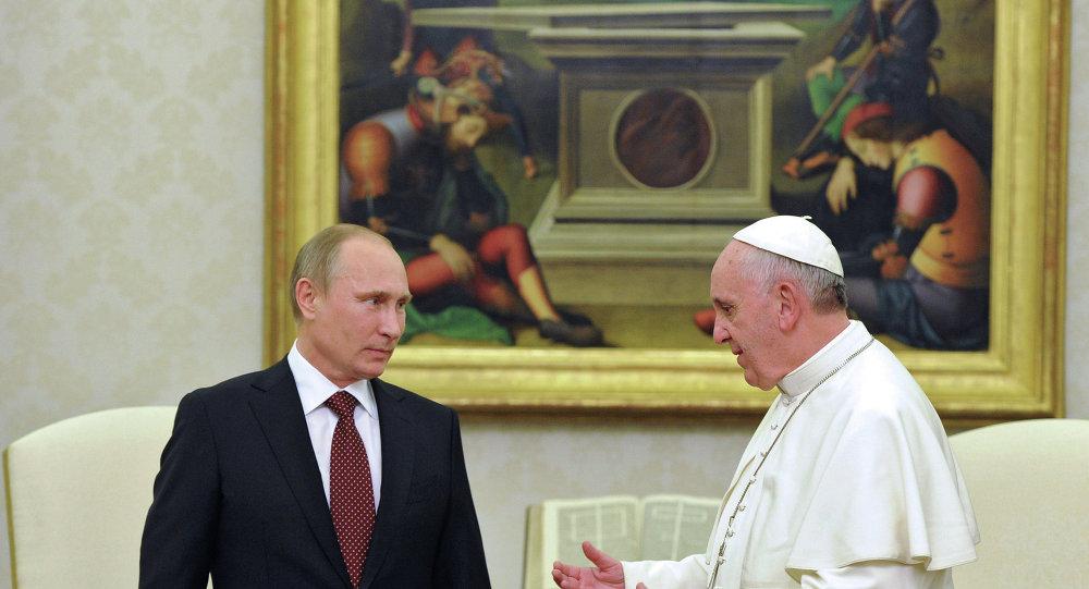 Vladimir Putin & Papa Francis