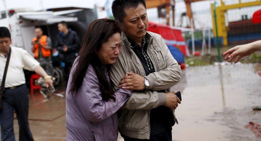 Çin'deki gemi faciası