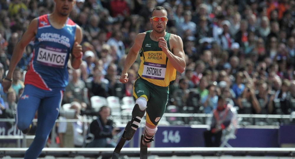 Çifte ampute atlet Oscar Pistorius