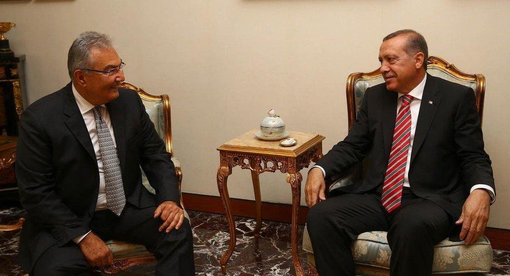 Recep Tayyip Erdoğan, Deniz Baykal