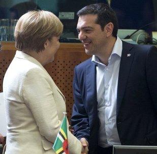 Angela Merkel - Aleksis Çipras