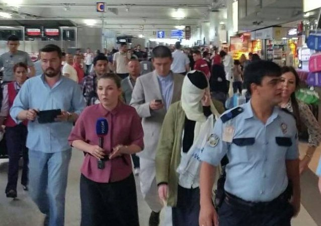 Varvara Karaulova, İstanbul Atatürk Havalimanı'nda