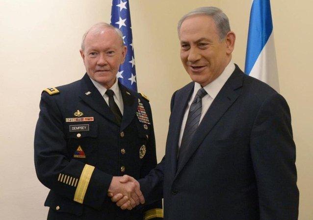 Binyamin Netanyahu & Martin Dempsey