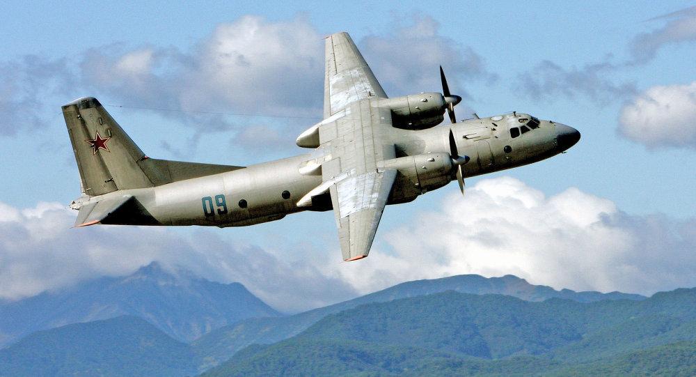 Antonov An 26 gözlem uçağı