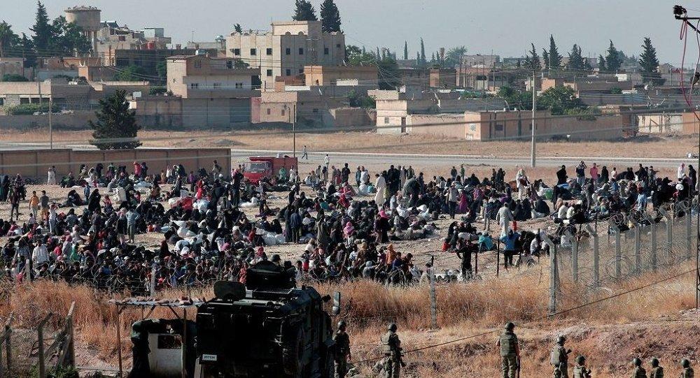 Akçakale Sınır Kapısı, Suriyeliler
