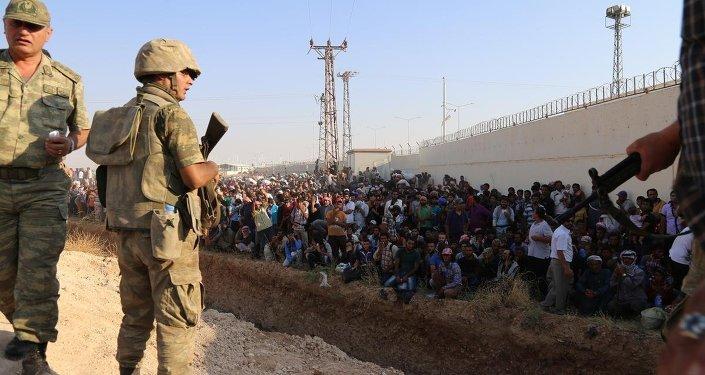 Türkiye-Suriye sınırında kırmızı alarm
