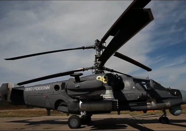 Kamov KA-52 Helikopteri