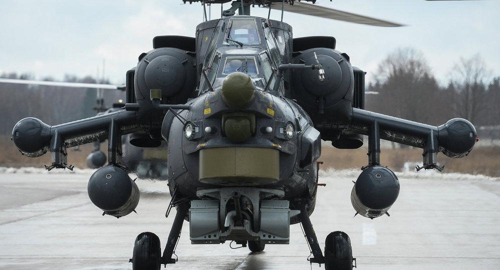 Mi-28 helikopteri