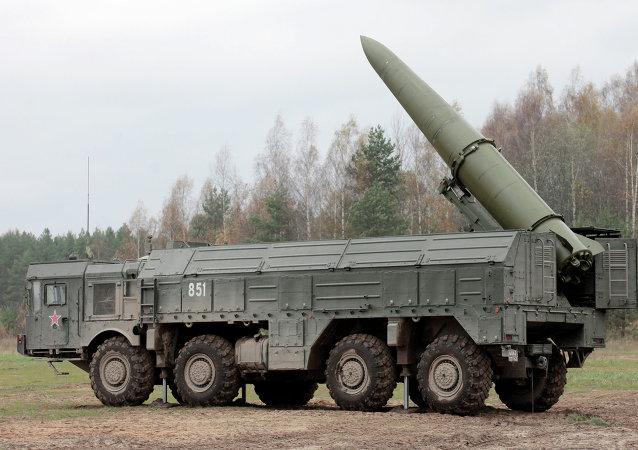 Rus yapımı füze sistemi İskender