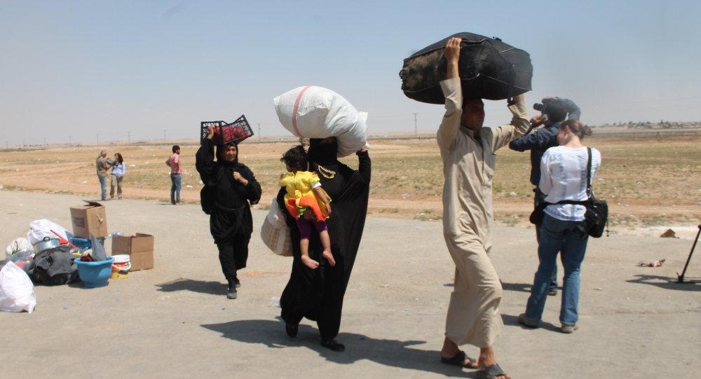 Türkiye'ye sığınan Suriyeliler
