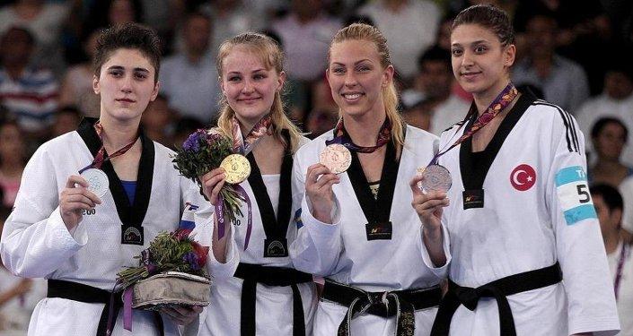 Bakü 2015 1. Avrupa Oyunları Tekvando Kadınlar