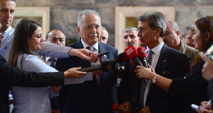 Yusuf Halaçoğlu ve Ekmeleddin İhsanoğlu
