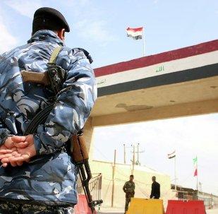 İran -Irak sınır kapısı