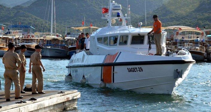 Sahil Güvenlik botu
