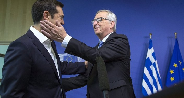 Yunanistan Başbakanı Aleksis Çipras ve Avrupa Komisyonu Başkanı Jean-Claude Juncker