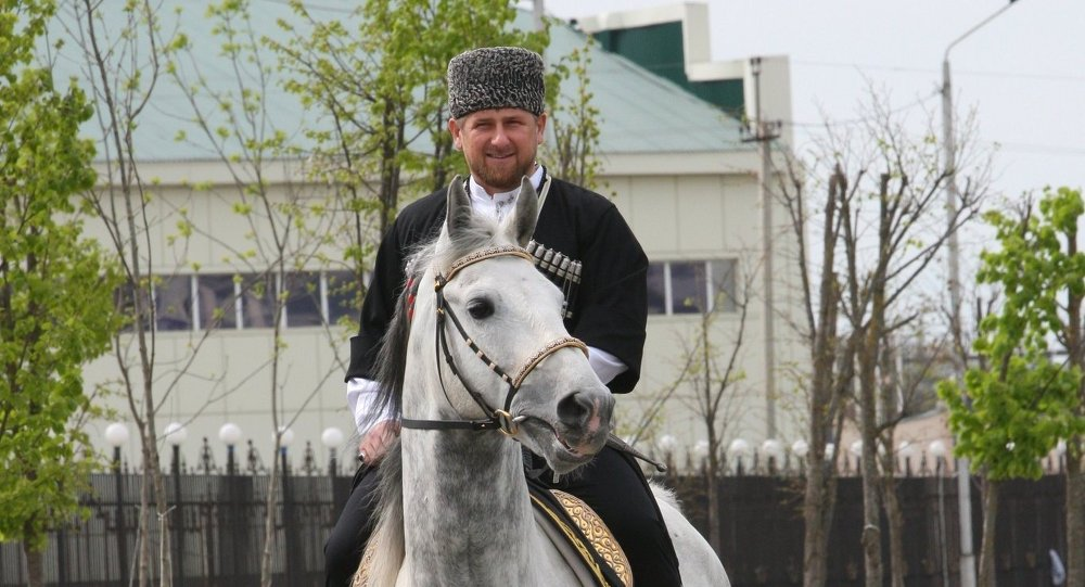 Çeçen lider Ramzan Kadirov'un atı Zazu da yaptırımlardan 'nasibini' aldı.