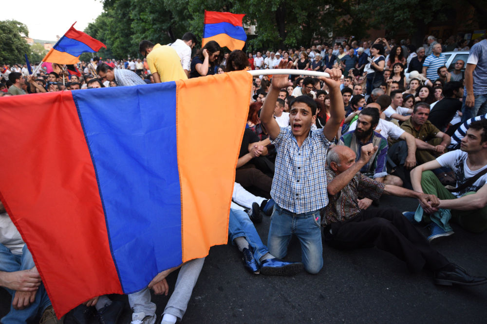 Erivan'daki protestolar