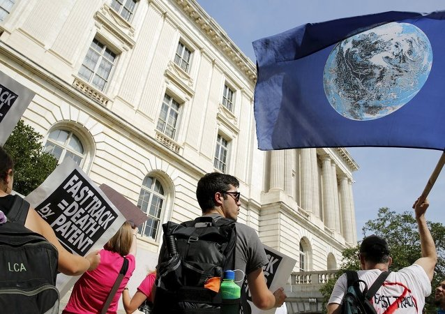 Trans Pasifik Ortaklığı (TPP) karşıtı gösteriler