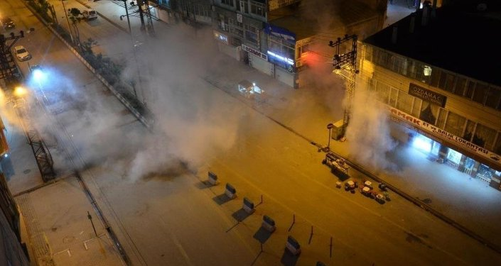 Yüksekova, Kobani, protesto