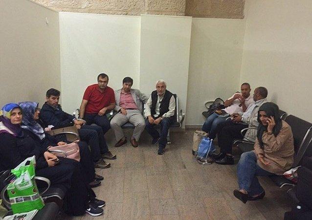 İsrail gözaltına alınan gazeteciler