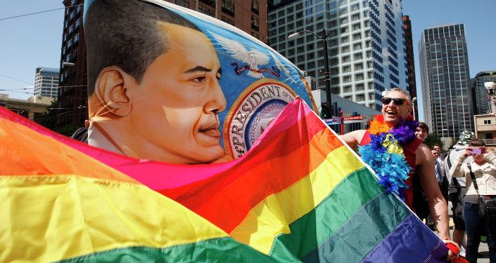 Seattle'da LGBT yürüyüşü