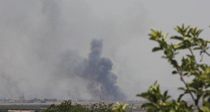 Azez'de çatışmalar