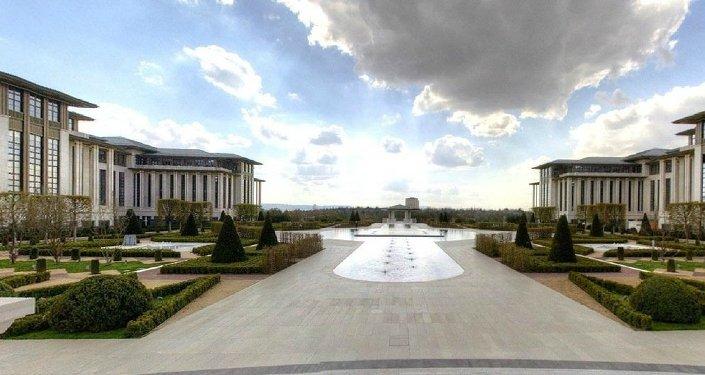 Cumhurbaşkanlığı Sarayı 'sanal tur'a açıldı