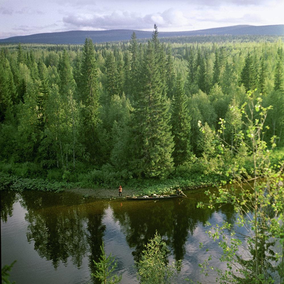 Ural'da Ilıç nehri