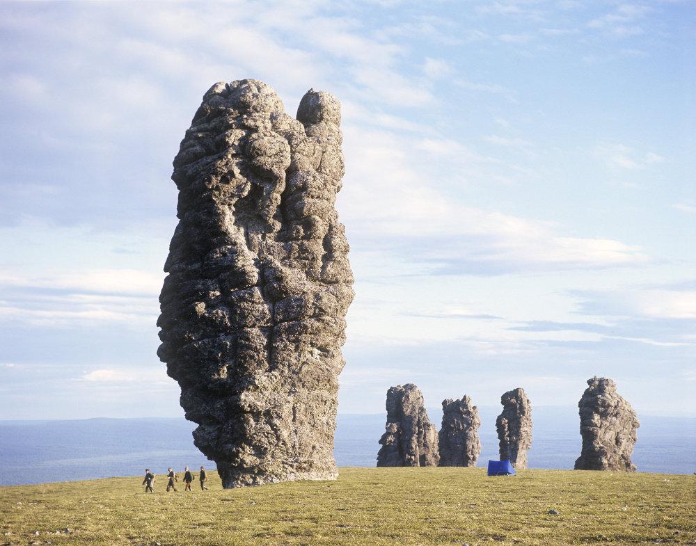Ural'da Man-Pupu-ner dağı