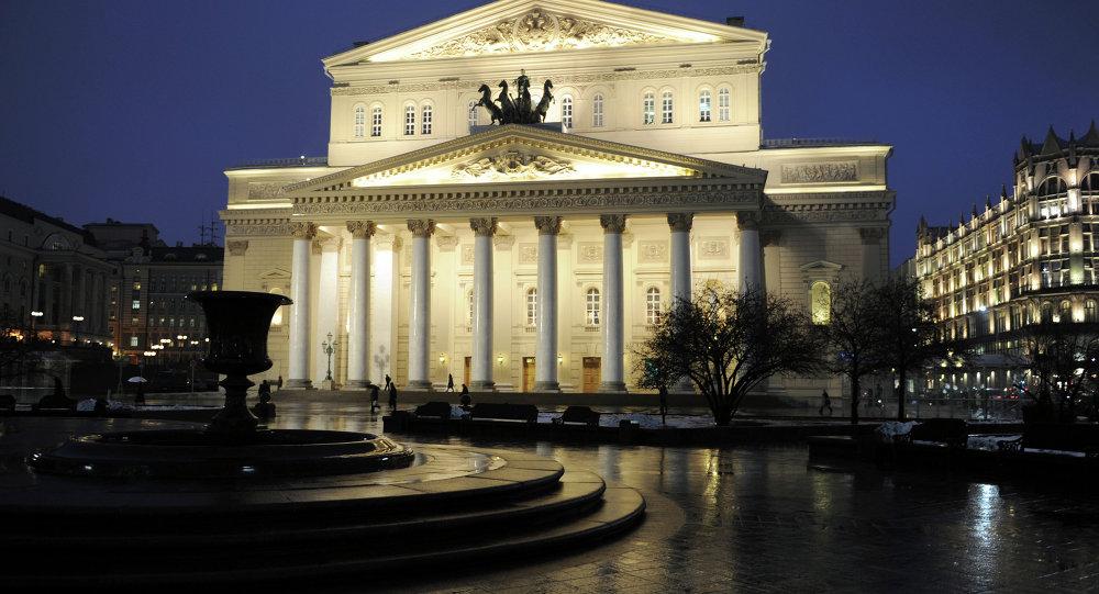 Büyük bir restorasyon sonra Moskova Bolşoy Tiyatrosu