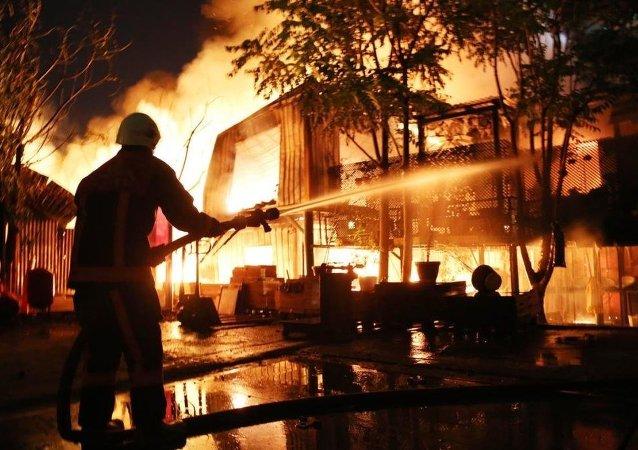 İstanbul yangın
