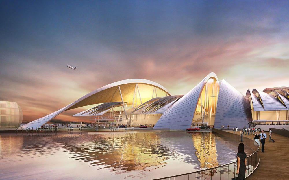 Rostov-na-Donu şehrinde inşa edilen Güney Hub Uluslararası Havaalanı