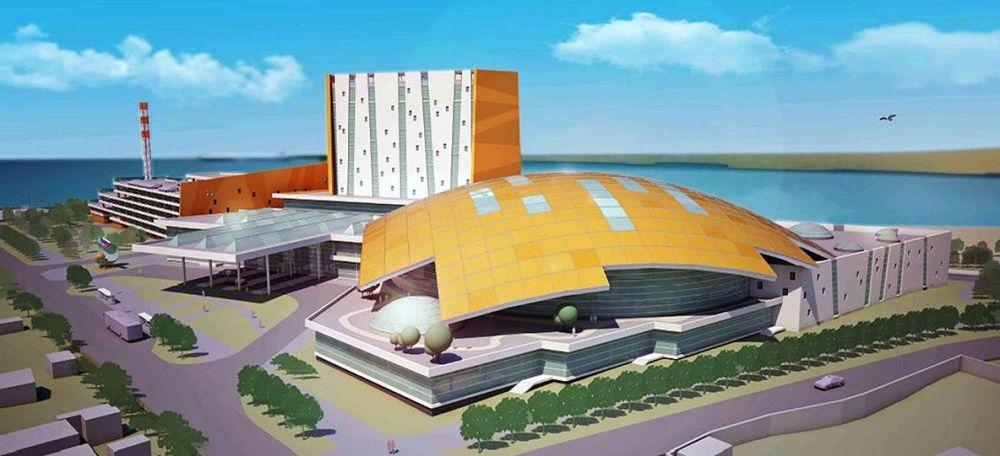 Novosibirsk Su Parkı projesi