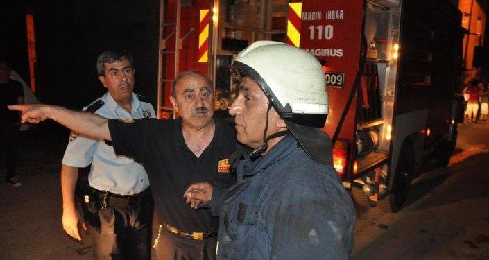 Bursa yangın, Suriyeli aile