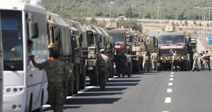 Suriye sınırındaki askeri önlemler
