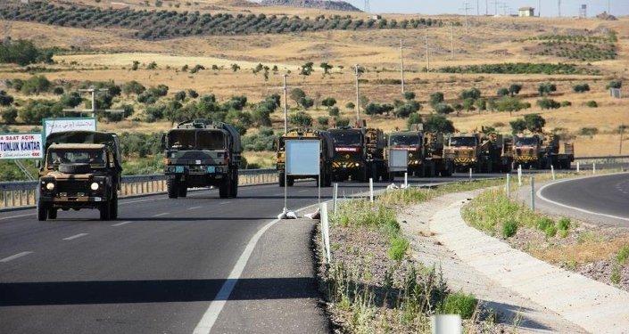 Suriye sınırı askeri hareketlilik
