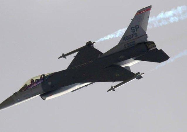 F-16 uçağı