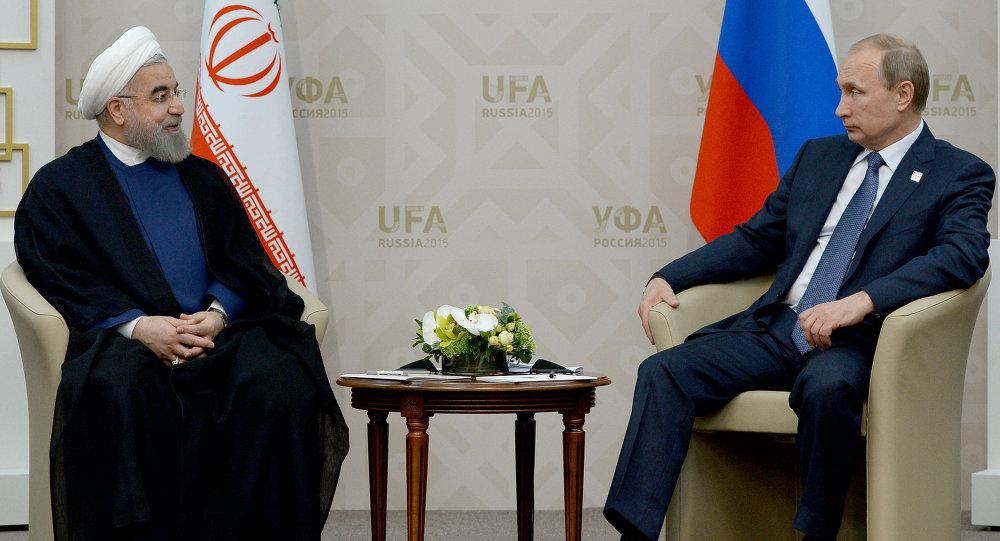 Vladimir Putin - Hasan Ruhani