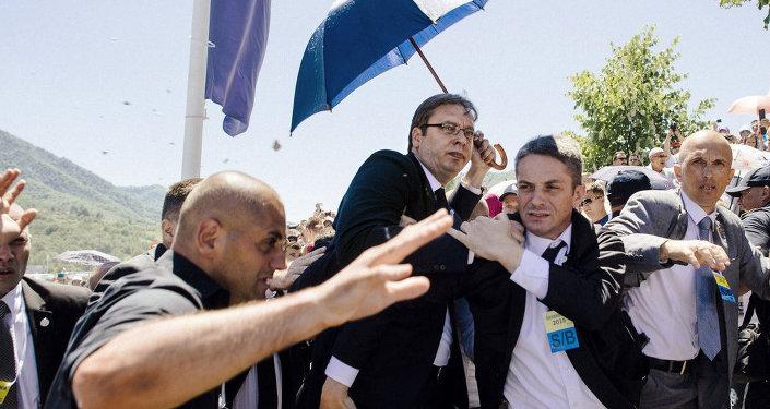 Sırbistan Başbakanı Aleksandar Vuçiç