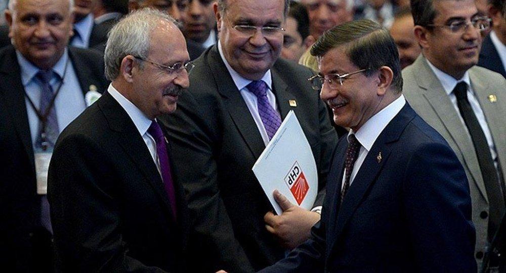 Kemal Kılıçdaroğlu - Ahmet Davutoğlu