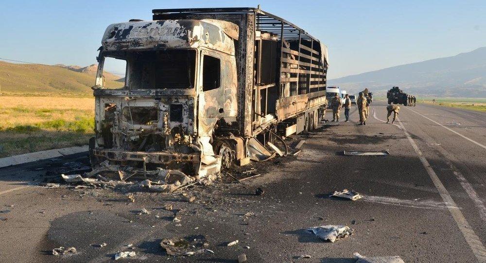 Ağrı'daki terör saldırısı